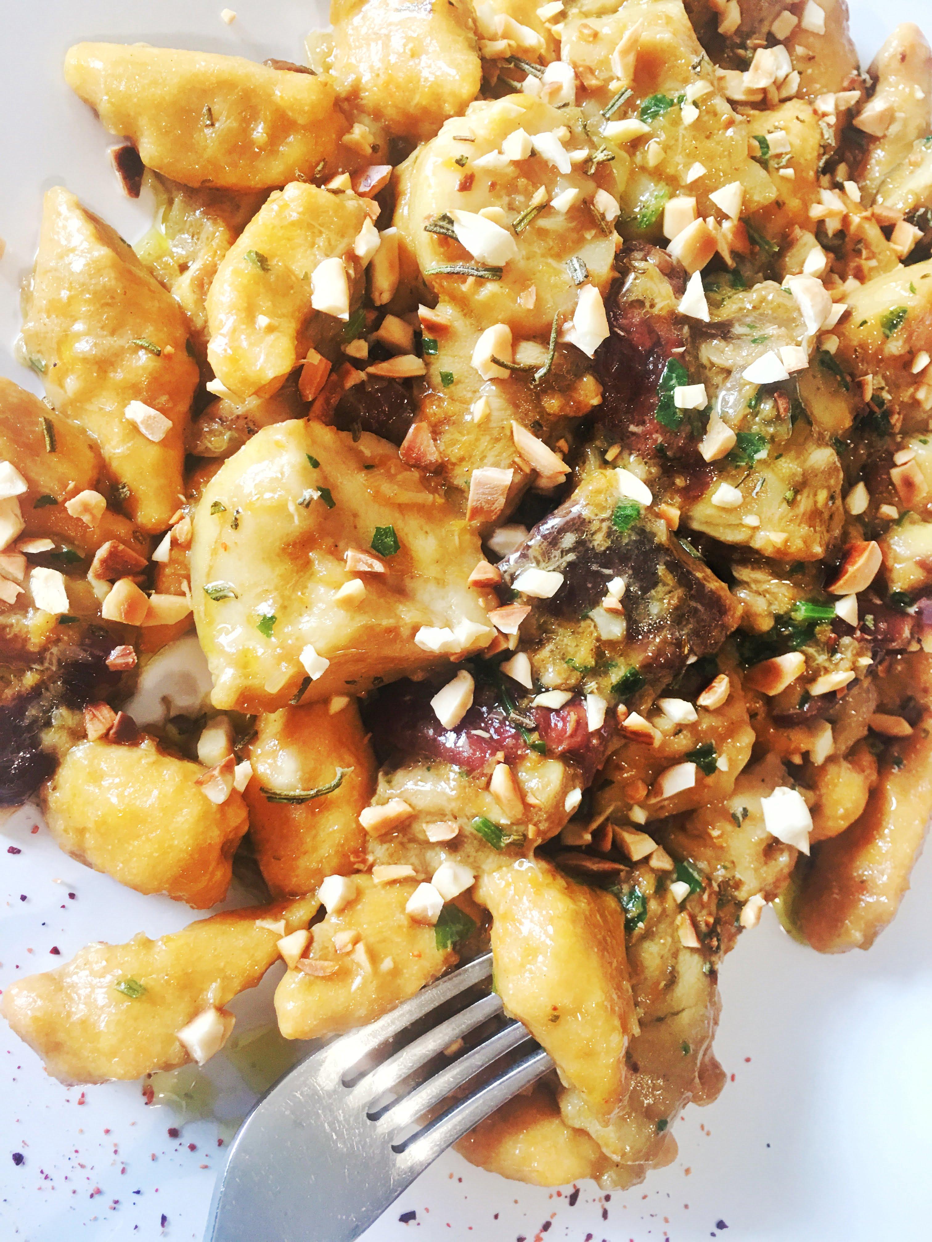 Ricetta Gnocchi Di Zucca Con Farina Di Quinoa.Gnocchi Di Zucca Ai Porcini Suqulento